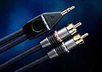 RCA plugs to 1/8 inch cable